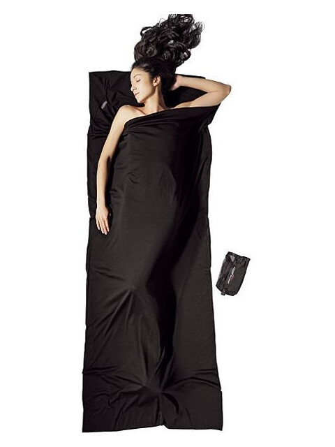Cocoon Travelsheet Merino Wool Black